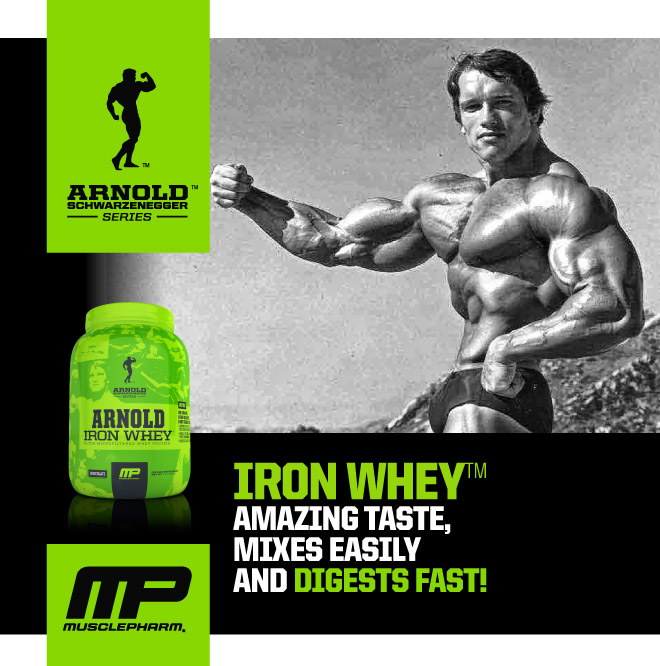 Arnold Series Iron Whey - MusclePharm