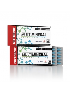 Multimineral Compressed Caps - Nutrend