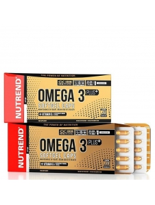 Omega 3 Plus Softgel Caps - Nutrend
