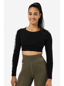 CROP-TOP BOWERY BLACK - Better Bodies