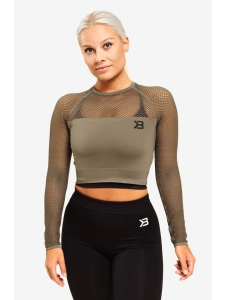 CROP-TOP BRONX LONG SLEEVE WASHED - Better Bodies