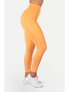 Legíny HIGH WAIST LIGHT ORANGE - Better Bodies