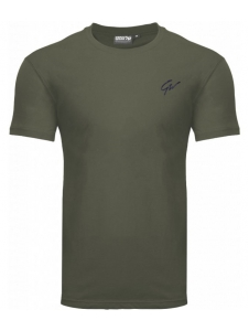 JOHNSON T-SHIRT ARMY GREEN - Gorilla Wear
