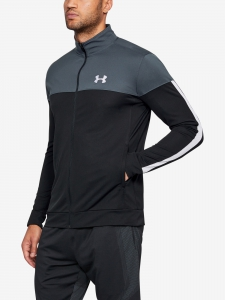 Mikina Under Armour Sportstyle Pique Jacket Gray