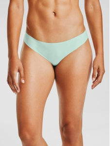 Nohavičky Under Armour PS Thong 3Pack Print Enamel Blue