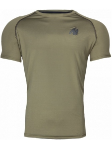 PERFORMANCE T-SHIRT ARMY GREEN - Gorilla Wear