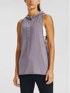 Tielko Under Armour Armour Sport Hooded Tank Slate Purple