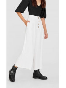 Cropped buttoned trousers Stradivarius