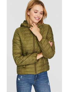 Padded jacket with hood Stradivarius