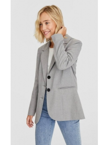 Simple button-up blazer Stradivarius