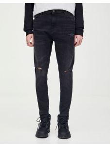 Carrot fit ripped jeans Pull & Bear