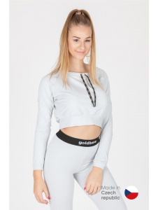 CropTop GoldBee BeCool Bright Silver