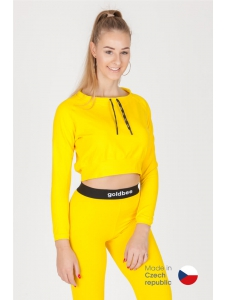 CropTop GoldBee BeCool Bright Yellow
