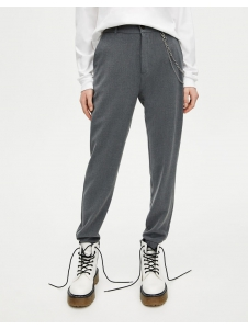 Pants with chain Pull & Bear