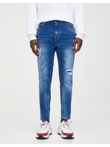 Premium ripped carrot fit jeans Pull & Bear