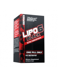 Lipo 6 BLACK Ultra Concentrate - Nutrex