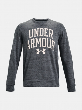 Mikina Under Armour UA RIVAL TERRY CREW Pitch Gray