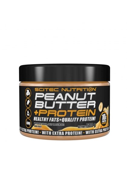 Peanut Butter + Protein - Scitec Nutrition