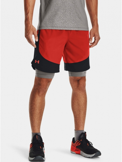 Kraťasy Under Armour HIIT Woven Colorblock Sts