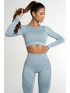 Crop Top Gym Glamour Fusion Blue